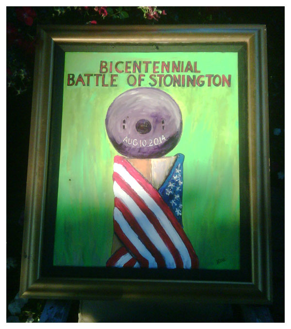 Bicentennial, Battle of Stonington
